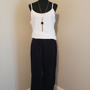 Style & Co Sport Black Casual/Lounging Pants